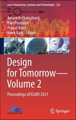 Design for Tomorrow--Volume 2: Proceedings of Icord 2021