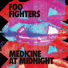 Foo Fighters (푸 파이터스) - 10집 Medicine at Midnight [블루 컬러 LP]