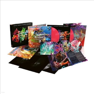 Liquid Tension Experiment - Lte3 (Limited Deluxe Box Set)(180g Opaque Hot Pink Gatefold 3LP+2CD+Blu-ray)