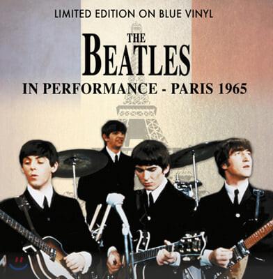 The Beatles (비틀즈) - A Performance In Paris 1965 [블루 컬러 LP]