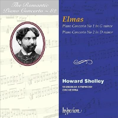 스테판 엘마스: 피아노 협주곡 1 & 2번 (Stephan Elmas: Piano Concertos Nos.1 & 2)(CD) - Howard Shelley