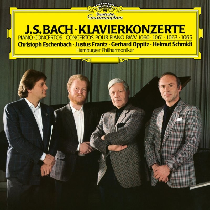 Christoph Eschenbach 바흐: 건반협주곡 (Bach: Concerto for 2 Harpsichords BWV 1060,1061,1063,1065) [LP]