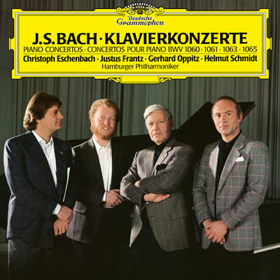 Christoph Eschenbach 바흐: 건반협주곡 (Bach: Concerto for 2 Harpsichords BWV 1060,1061,1063,1065) [LP]