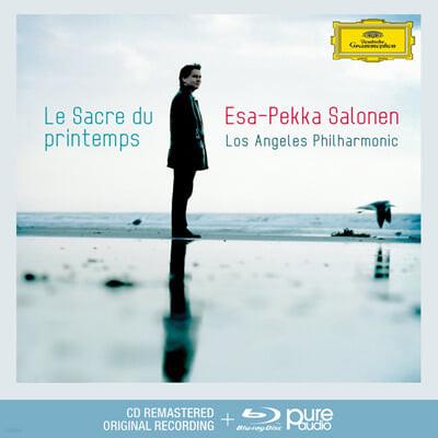 Esa-Pekka Salonen 스트라빈스키: 봄의 제전 (Stravinsky: Le Sacre du Printemps) [CD+블루레이 오디오]