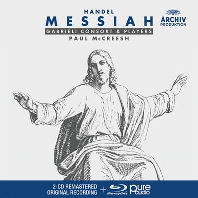 Paul McCreesh 헨델: 메시아 (Handel: Messiah) [CD+블루레이 오디오]