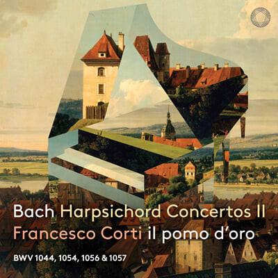 Francesco Corti 바흐: 하프시코드 협주곡 2집 (J.S.Bach: Harpsichord Concertos II BWV1044, 1054, 1056, 1057)