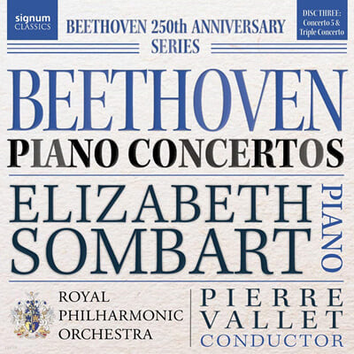 Elizabeth Sombart 베토벤: 피아노 협주곡 5번, 삼중 협주곡 (Beethoven: Piano Concertos)