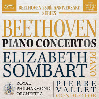 Elizabeth Sombart 베토벤: 피아노 협주곡 전곡 (Beethoven: Piano Concertos Nos. 1-5)