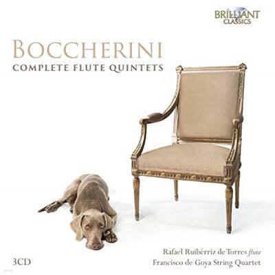 Rafael Ruiberriz de Torres 보케리니: 플루트 5중주 전곡 (Boccherini: Complete Flute Quintets)