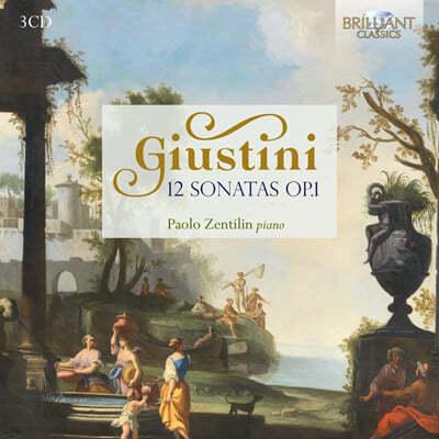 Paolo Zentilin 로도비코 주스티니: 피아노 소나타 (Lodovico Giustini: 12 Sonatas Op.1)