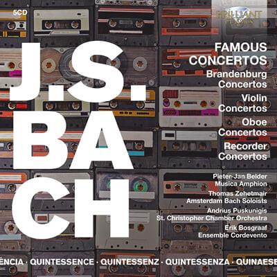 Musica Amphion 바흐: 유명 협주곡 모음집 (J.S. Bach: Famous Concertos)