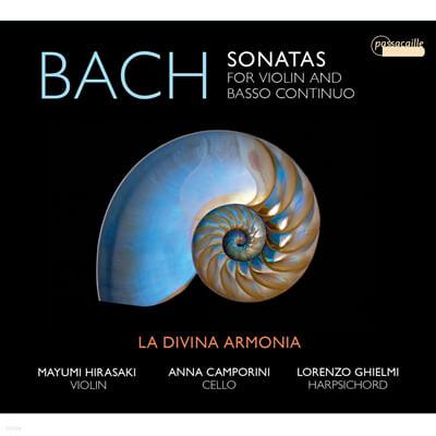 La Divina Armonia 바흐: 바이올린 소나타 (J.S.Bach: Sonatas for Violin and Basso Continuo BWV 1021-1024)
