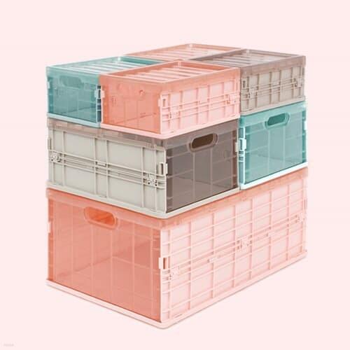 [비스비바] 블록 폴딩 박스 1+1, 세트 모음전