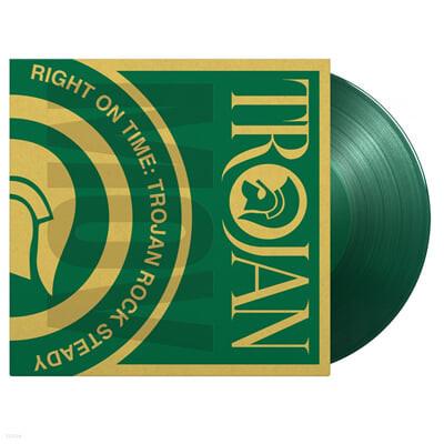 트로잰 레코즈 레게 음악 베스트 2집 (Right On Time - Trojan Rock Steady) [그린 컬러 2LP]