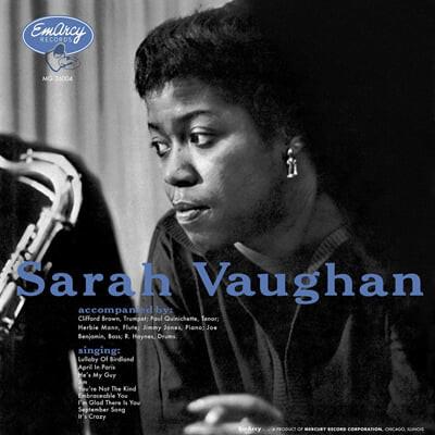Sarah Vaughan (사라 본) - Sarah Vaughan [LP]