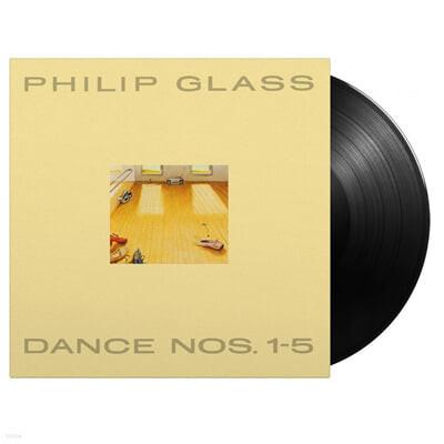 Philip Glass (필립 글래스) - Dance Nos. 1-5 [3LP]
