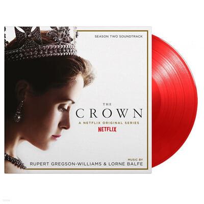 Netflix '더 크라운 시즌 2' 드라마음악 (The Crown Season 2 OST by Lorne Balfe / Rupert Gregson-Williams) [투명 레드 컬러 2LP]