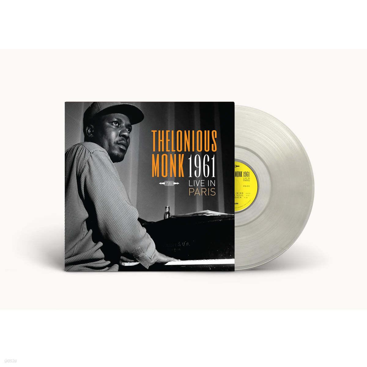 Thelonious Monk (델로니어스 몽크) - Live in Paris 1961 [투명 컬러 LP]