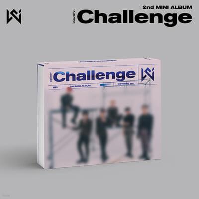 위아이 (WEi) - 미니앨범 2집 : IDENTITY : Challenge [NOTHING ver.]