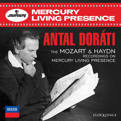 Antal Dorati 모차르트 / 하이든: 레코딩 - 안탈 도라티 (Mozart / Haydn : Recordings On Mercury Living Presence)