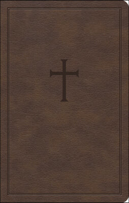 KJV Personal Size Bible, Brown Leathertouch