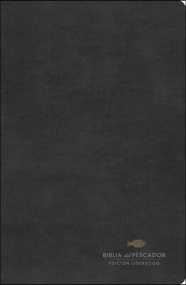 Rvr 1960 Biblia del Pescador: Edicion Liderazgo, Negro Simil Piel