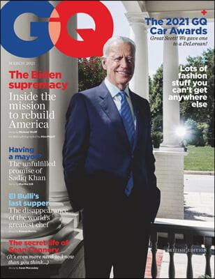 GQ UK (월간) : 2021년 03월 : 바이든 커버