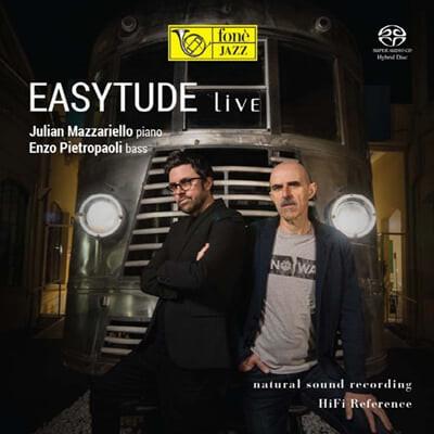 Julian Mazzariello / Enzo Pietropaoli (줄리안 마자리엘로 / 엔초 피에트로파올리) - Easytude Live
