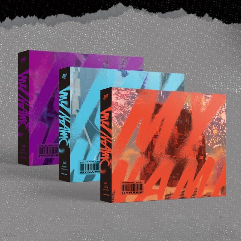 온앤오프(ONF) - THE FIRST ALBUM [ONF:MY NAME] [SET]