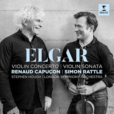 Renaud Capucon 엘가: 바이올린 협주곡, 소나타 (Elgar: Violin Concerto Op.61, Violin Sonata Op.82)