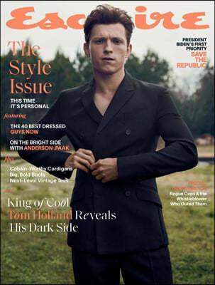 Esquire USA (월간) : 2021년 03월 : 톰 홀랜드 커버