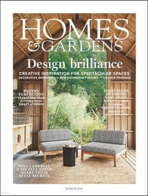 Homes & Gardens UK (월간) : 2021년 03월