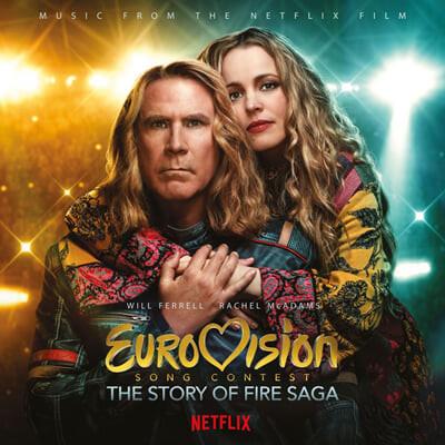 '유로비전 송 콘테스트: 파이어 사가 스토리' 영화음악 (Eurovision Song Contest: Story Of Fire Saga) [화이트 컬러 LP]