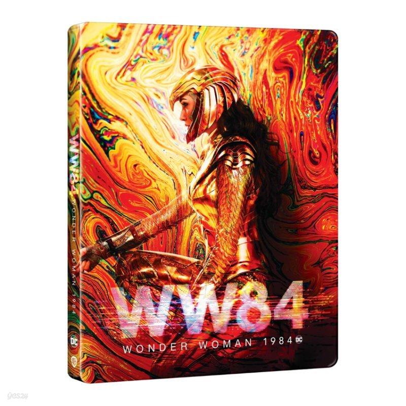 원더 우먼 1984 (3Disc 4K UHD+3D+2D 스틸북 한정수량) : 블루레이