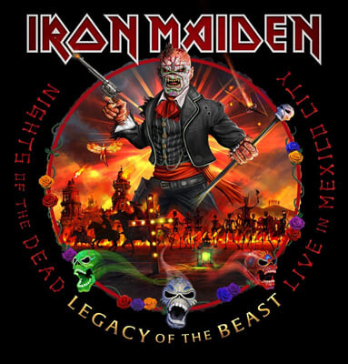 Iron Maiden (아이언 메이든) - Nights Of The Dead, Legacy Of The Beast: Live In Mexico City [3LP]