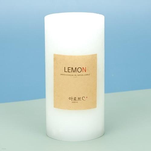 아로브 천연 아로마 에센셜오일 캔들 레몬