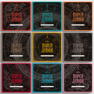 슈퍼주니어 (Super Junior) 10집 - The Renaissance (SQUARE Style)