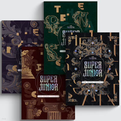 슈퍼주니어 (Super Junior) 10집 - The Renaissance (The Renaissance Style) [Versatile ver.]