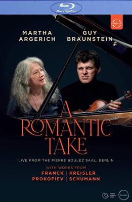 Guy Braunstein / Martha Argerich 바이올린 소나타 (A Romantic Take)