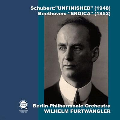 Wilhelm Furtwangler 슈베르트: 교향곡 8번 '미완성' / 베토벤: 교향곡 3번 '영웅' (Schubert: Symphony D759 / Beethoven: Symphony Op.55 'Eroica')