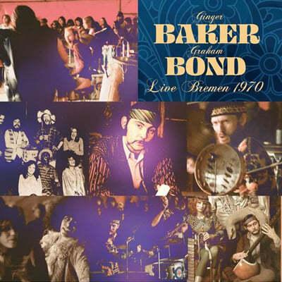 Ginger Baker / Graham Bond (진저 베이커 / 그라함 본드) - Live Bremen 1970 [블루 컬러 LP]