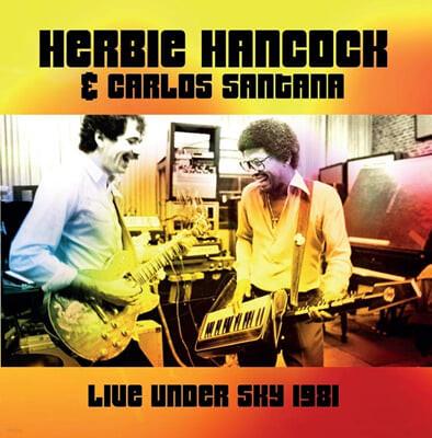 Herbie Hancock / Carlos Santana (허비 행콕 / 카를로스 산타나) - Live Under Sky 1981 [2LP]