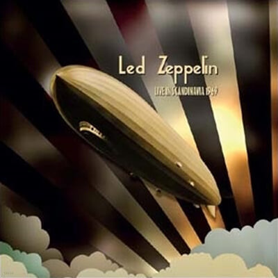 Led Zeppelin (레드 제플린) - Live In Scandinavia 1969 [픽쳐디스크 LP]