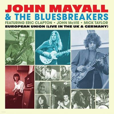 John Mayall & The Bluesbreakers (존 메이올 & 더 블루스 브레이커스) - European Union [라이트 블루 컬러 LP]