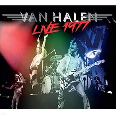 Van Halen (밴 헤일런) - Live 1977 [레드 컬러 LP]