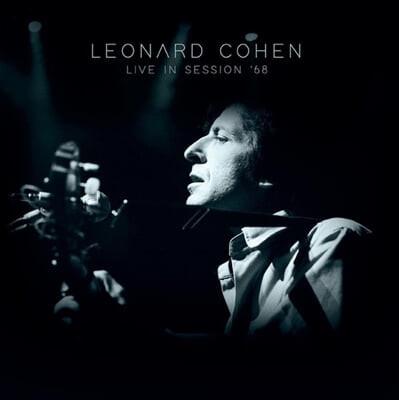 Leonard Cohen (레너드 코헨) - Live In Session '68 [화이트 컬러 LP]
