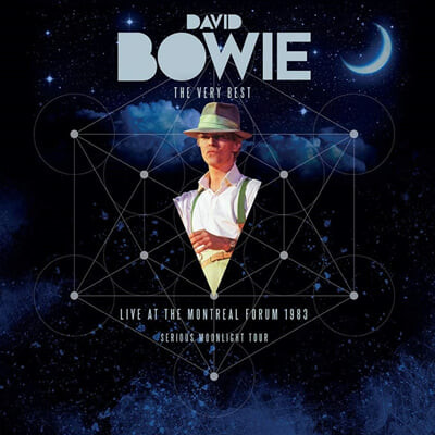 David Bowie (데이빗 보위) - The Very Best : Live At The Montreal Forum 1983 (Serious Moonlight Tour) [다크 레드 컬러 2LP]