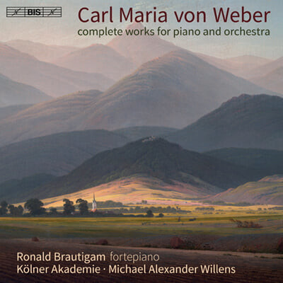 Ronald Brautigam 베버: 피아노 협주곡 1,2번 (Carl Maria von Weber: Complete Works for Piano and Orchestra)