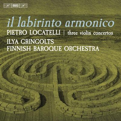 Ilya Gringolts 로카텔리: 바이올린의 기법 중 9,11,12번 (Pietro Locatelli: Three Violin Concertos Op. 3 Nos. 9,11,12)