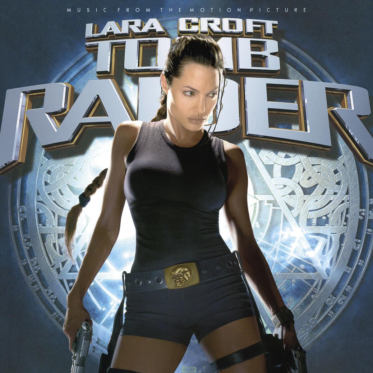 툼 레이더 영화음악 (Lara Croft: Tomb Raider OST) [메탈 골든 트라이앵글 컬러 2LP]